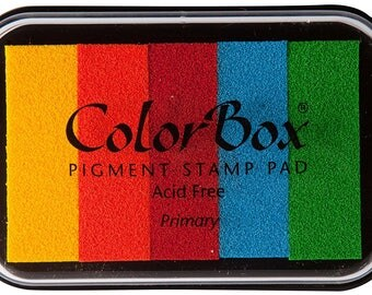 COLOR BOX Multi-Color Pigment Ink Stamp Pads
