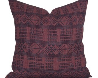 Addis pillow cover in Midnight/Pasha