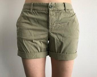 Boyfriend Chino Shorts (Sz 2-4)