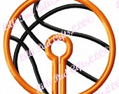 G-Tube Cover-Basketball- Applique - Machine Embroidery Design - 2 sizes
