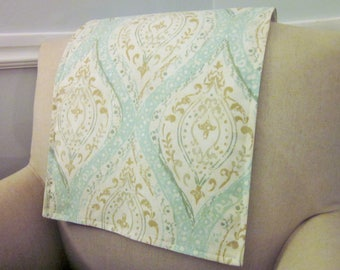 "Headrest Chair Protector or Cover, 30"" x 14"", Recliner/Chair/Sofa Head Rest Cover, Antimacassar, Fabric or Leather Furniture"