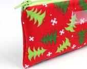 Christmas Cash Envelope - Cash Budget System - 1 Cash Budget Envelope with Zipper - Ready to Ship
