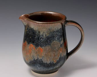 Wheel-thrown Stoneware Mug with Oil Spot Glaze by Hsinchuen Lin