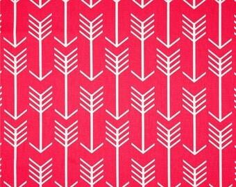 CLEARANCE Arrow Pillow Cover, Candy Pink Tribal Pillow, Hot Pink Throw Pillow, 12x18 Lumbar Zippered Pillow, Girls Pillow, Cyber Monday SALE
