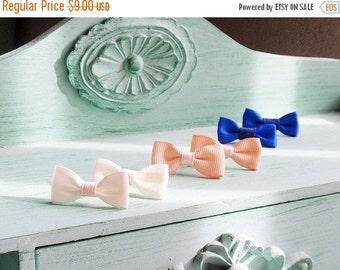 SALE Sweet Bows Stud Earrings Trio