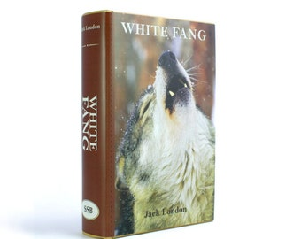 White Fang by Jack London - Secret Hollow Book Safe - Wolves