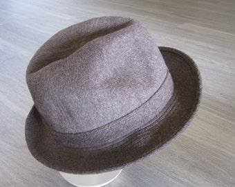P&C Habig Wein Heather Brown Fisherman's Hat - Wool