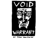 VOID WARRANT sci-fi comic by Paul Jon Milne