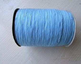 100 Yards of PAPER Blue Raffia (Full Spool)
