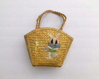 Charming Easter purse/basket for little girl