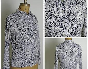 on sale Vintage Wildcat Button Up