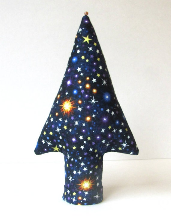 GLOW-In-The-Dark Fabric MEDIUM Style Centerpiece Ring TREE-Stand Ready to Ship