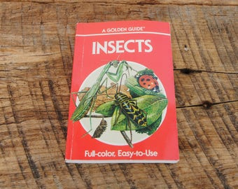 Vintage Insects A Golden Nature Guide 1987