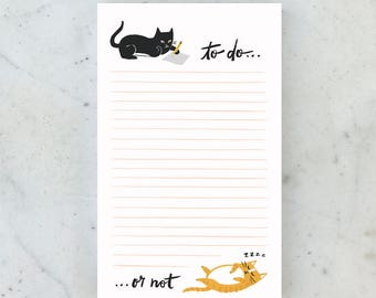 To Do...Or Not. 65-Sheet Notepad