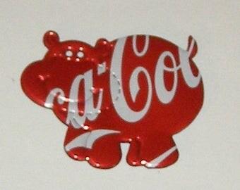 Hippo  Magnet - Coca-Cola Soda Can