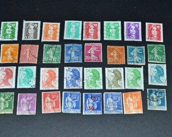 France 125 stamps some very old All very fine condition