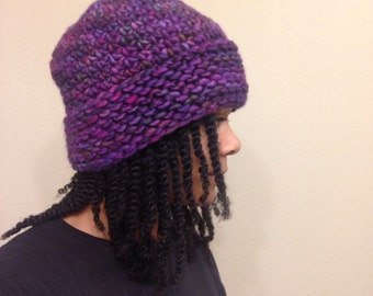 Purple Multicolor Hat