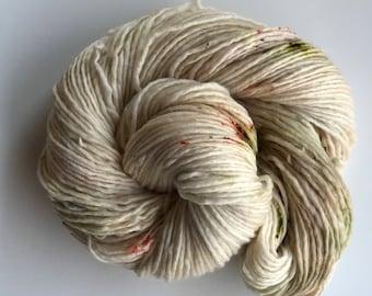 Hand Dyed Yarn - DK Worsted - Merino Nylon - {macaroon}