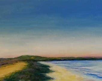 Cape Hatteras Lighthouse 10x20 Acrylic on Canvas