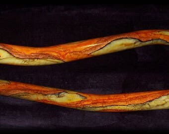 Didgeridoo, low droner (C/B), Beautiful handmade instrument
