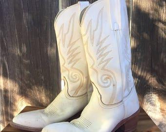Vtg Frye cowboy boots//9