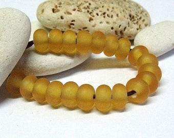 Cold Cider, Lampwork Spacer Beads, SRA, UK