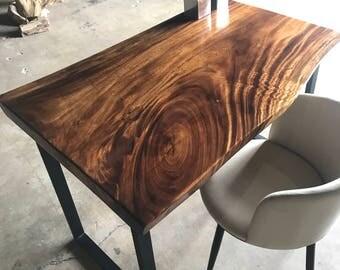Live Edge Wood Desk