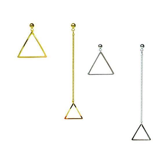 Triangle Twin Earring