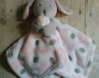 Custom Personalized Baby Bunny Lovey