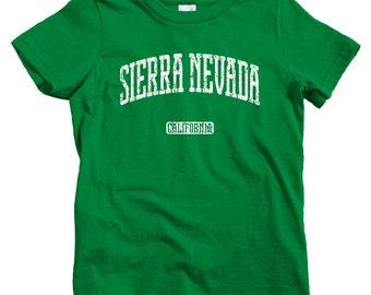 Kids Sierra Nevada California T-shirt - Baby, Toddler, and Youth Sizes - Kids Tee, Gift, Sierra Nevada Kids, Carson City, South Lake Tahoe