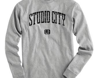 LS Studio City Los Angeles Tee - Long Sleeve T-shirt - Men S M L XL 2x 3x 4x - Gift for Men, Studio City Shirt, LA Shirt, Tv Fan, Film Fan