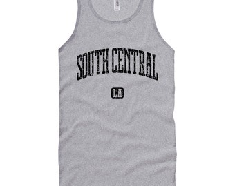 South Central Los Angeles Tank Top - Unisex XS S M L XL 2x Men and Women - Gift for Men, Her, South Central Tank Top, LA, Florence, Watts