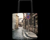 RESERVED FO DOMINIC - Wet Streets Praha Tote