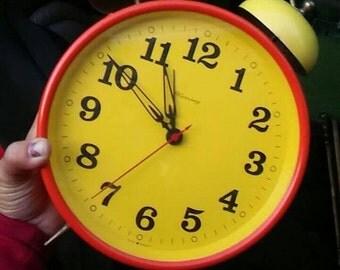Large Vintage Alarm Clock