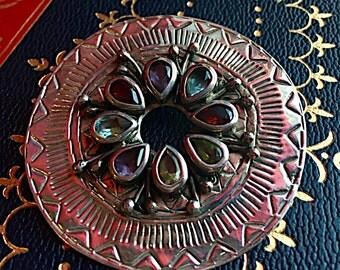 Silver and Semi-Precious Pendant