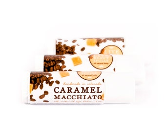 Caramel Macchiato Lip Balm - All Natural - Smooth Espresso with Buttery Caramel