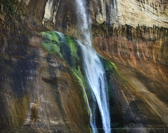 16X20 Poster - Lower Calf Creek Falls