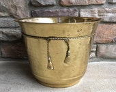Large Brass Planter ~ Tree Planter ~ Made in India