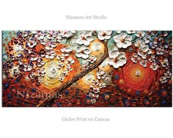 Wall Art Summer Story Abstract Art Giclee Print on canvas Interior Decor P Nizamas ready to hang