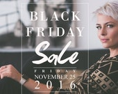 SALE Black Friday Sale Template, Instagram Photoshop Template, Blog Template, Store Graphics, BTO200, INSTANT Download
