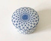 Reserved for Kirsten // Custom Listing - Vintage Takahashi Porcelain Covered Box and Blue and White Porcelain Cup