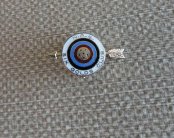 Rare Vintage Archery  Competition Pin   C864