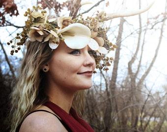 CUSTOM RESERVED for CARMELA: Flower Crown Wreath, Flower Crown, Bridal Crown, Floral Head Wreath