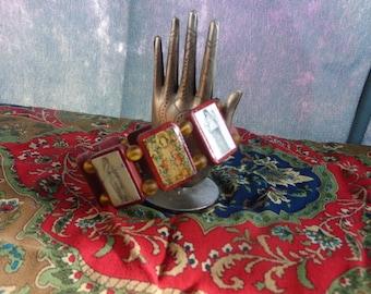 Hestia Wooden Bracelet. Devotional Bracelet. Pagan Polytheist Hellenist Devotional Jewelry. Vesta