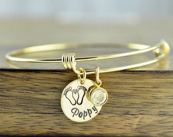 Name Bracelet Gold - Hand Stamped Bracelet - Hand Stamped Jewelry - Mother Bracelet - New Mom Gift - New Mommy Gifts - New Mom Jewelry