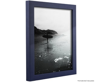 craig frames 12x12 inch navy blue picture frame 75 wide bauhaus - Etsy Picture Frames