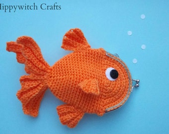 Goldfish purse, coin purse