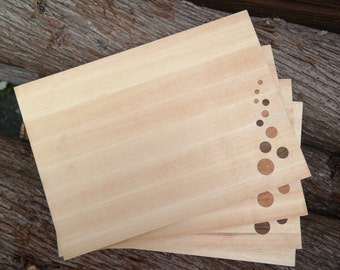 Cutting board - Cheese board -  Serving plate - Bubbles board
