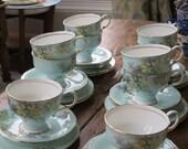 Paragon vintage china tea cup trio