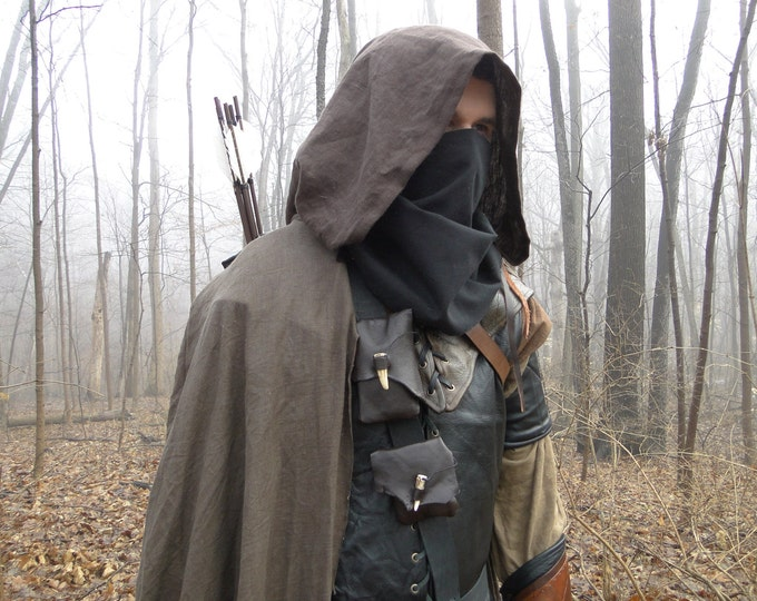 Ranger Outfit Set Complete - Medieval Archer Costume - Custom Made